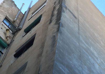 Reparació façana després.